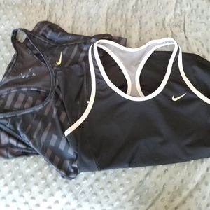Nike Racerback Tank Top Bundle, 2, Size Small